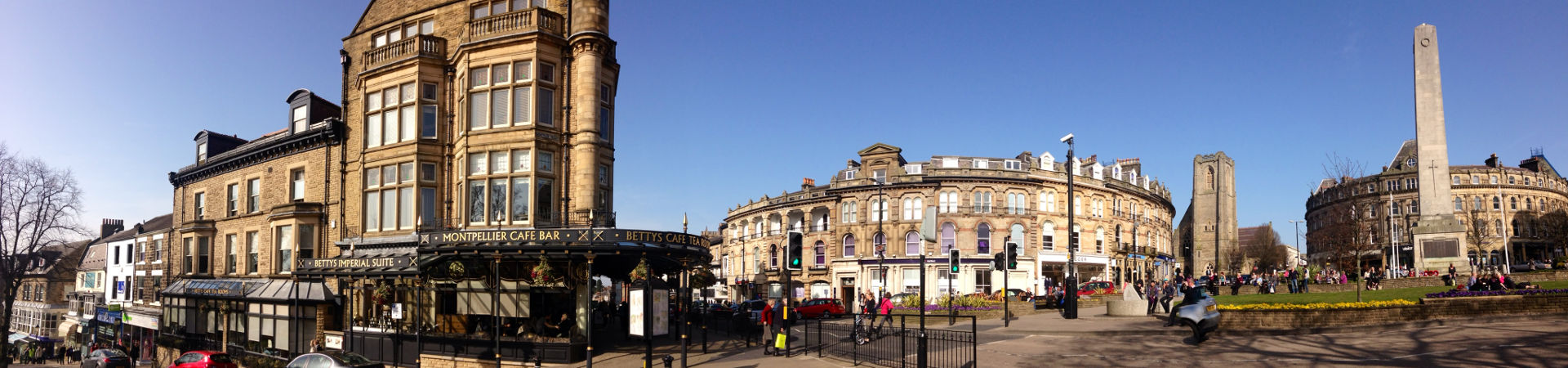 Panorama of Harrogate
