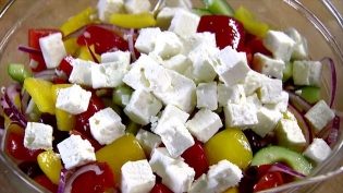 Greek Feta (diced in brine (15mm))