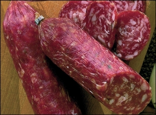 Whole Salami Napoli peeled