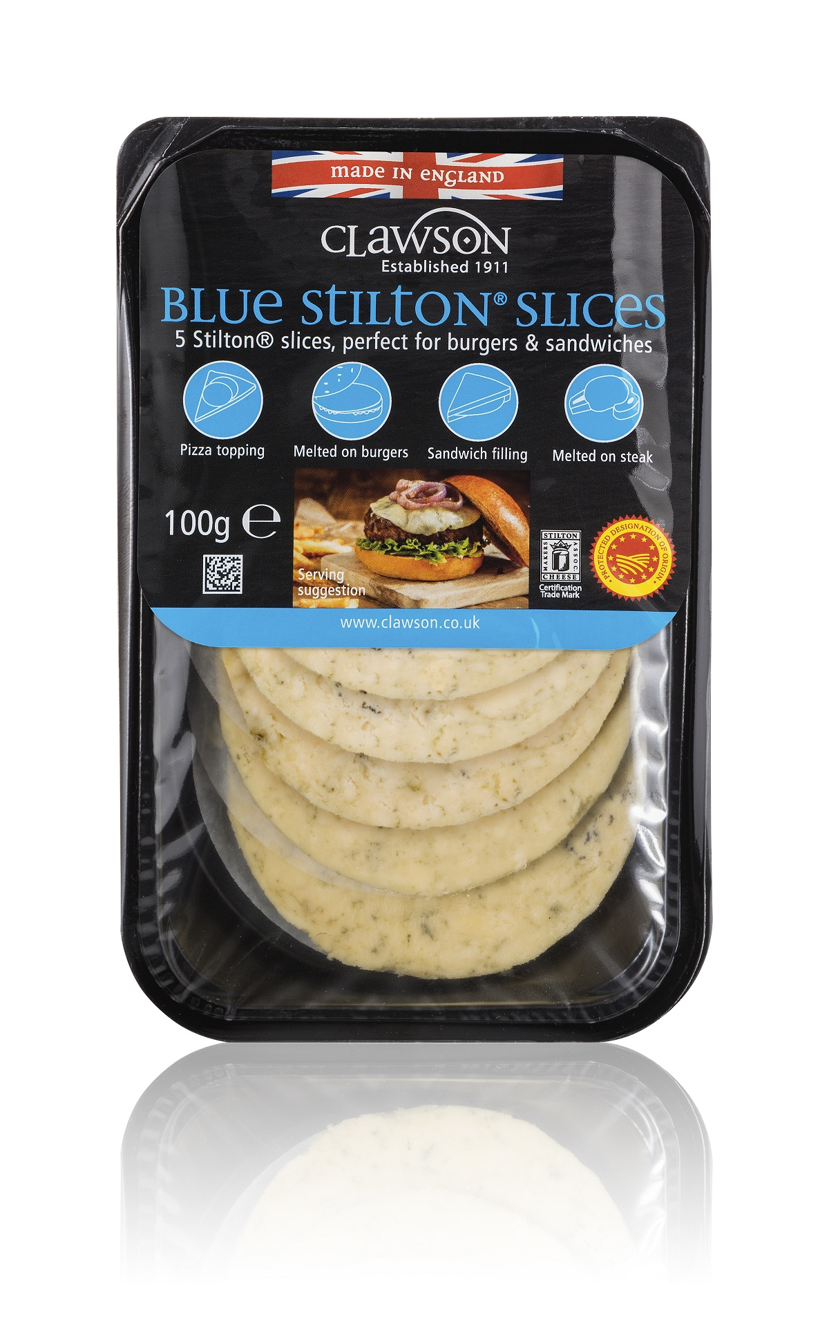 Blue Stilton Slices