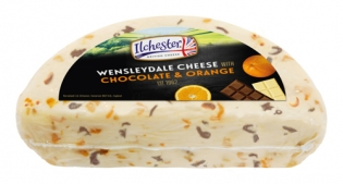 Wensleydale with Chocolate and Orange