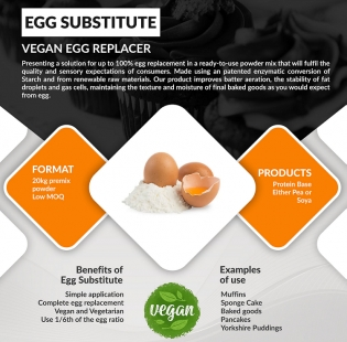 Vegan Egg replacer